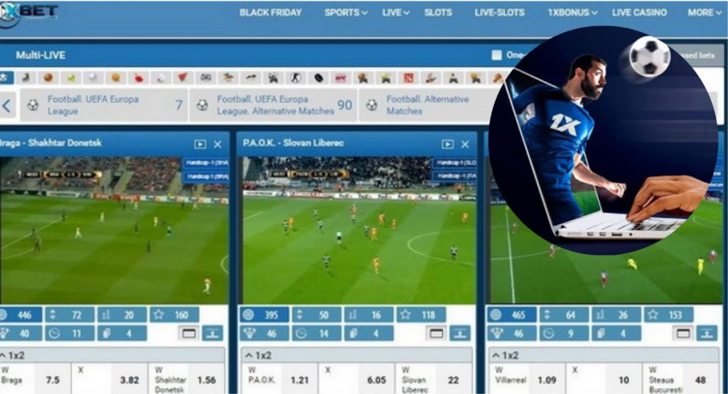1XBET Live Streaming