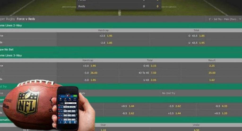 Rugby bookmakers
