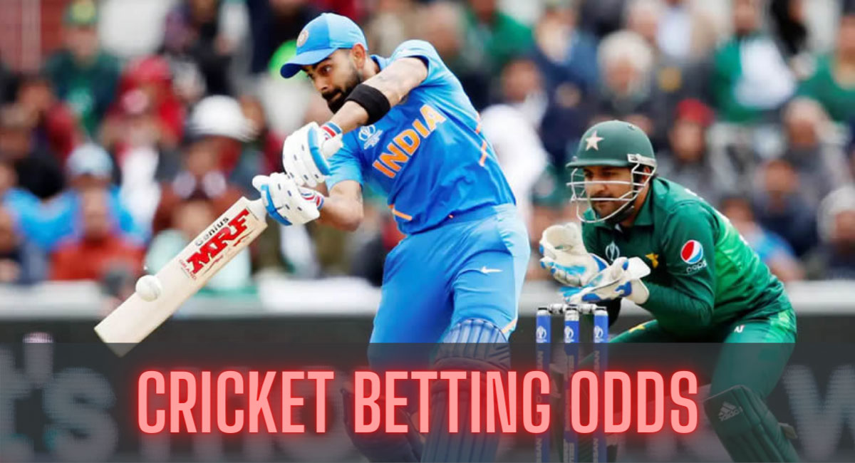 Cricket - sport betting odds